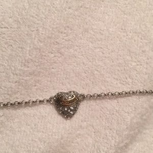 Juicy Couture 7 charm necklace